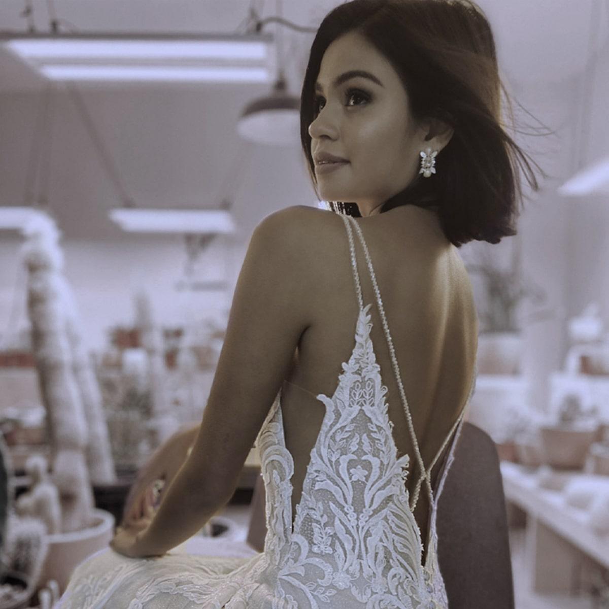 Low Backs Wedding Dress Trends