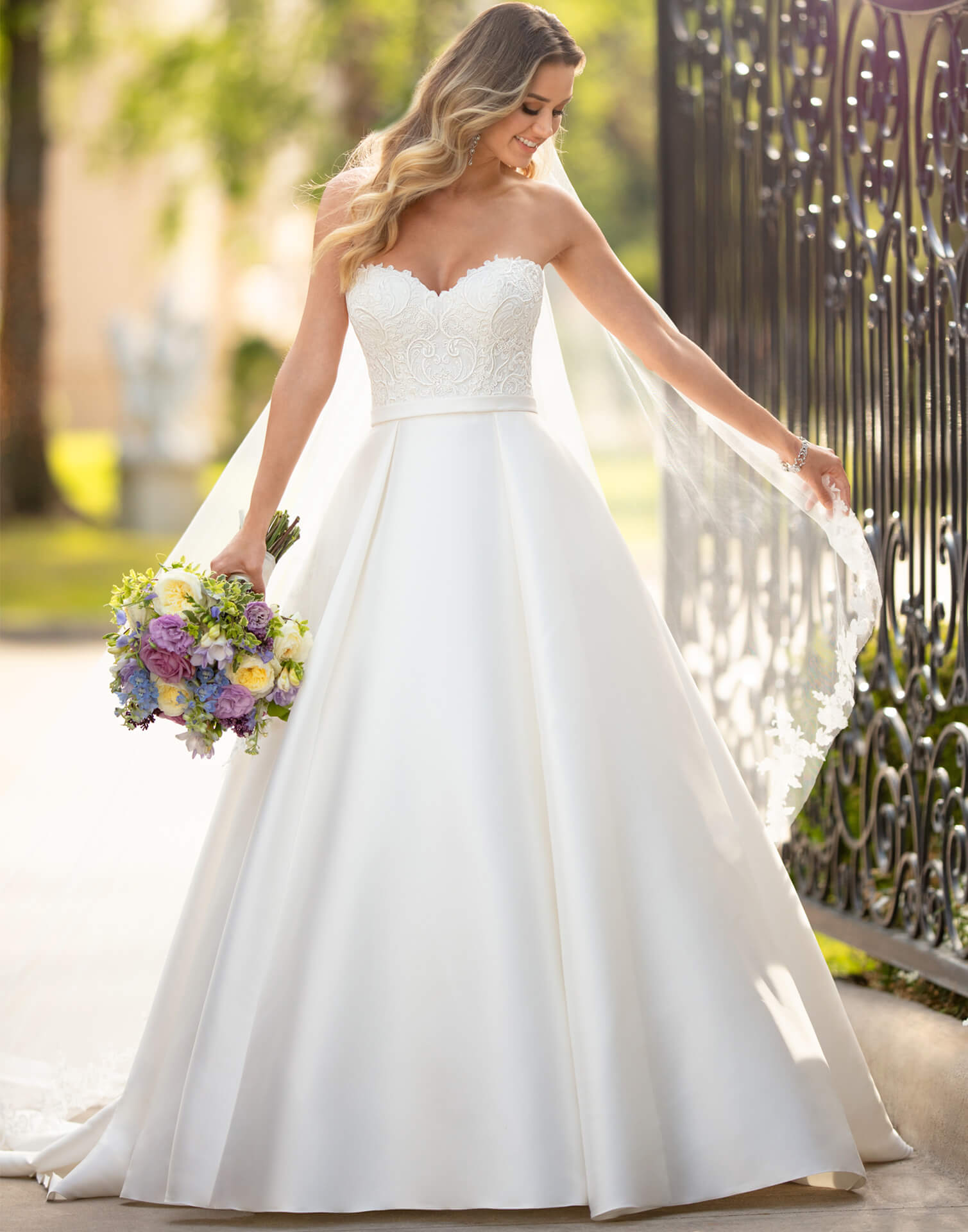 6763 – Stella York Wedding Dress Collection – Front View