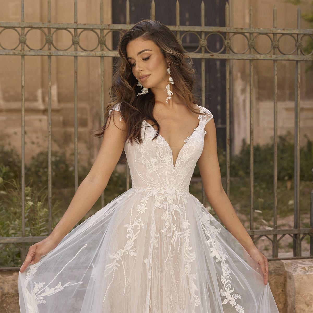 Vintage Wedding Dress Trend