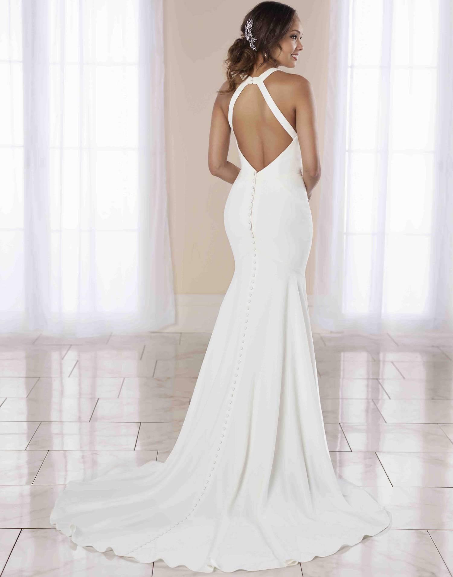 7024 – Stella York Wedding Dress Collection – Front View