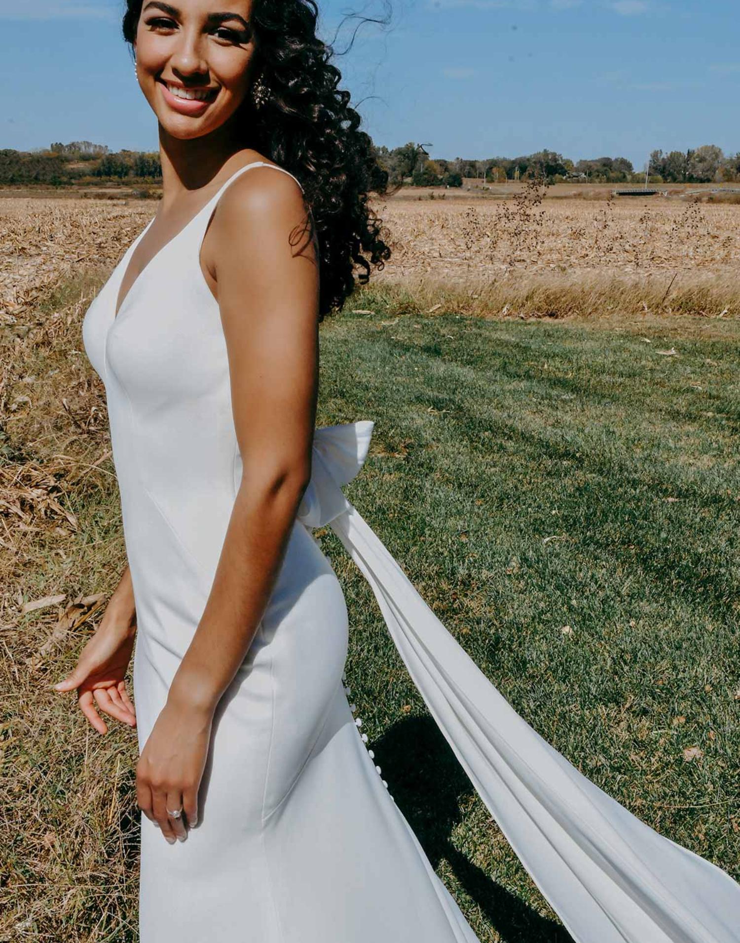7290 – Stella York Wedding Dress Collection – Front View