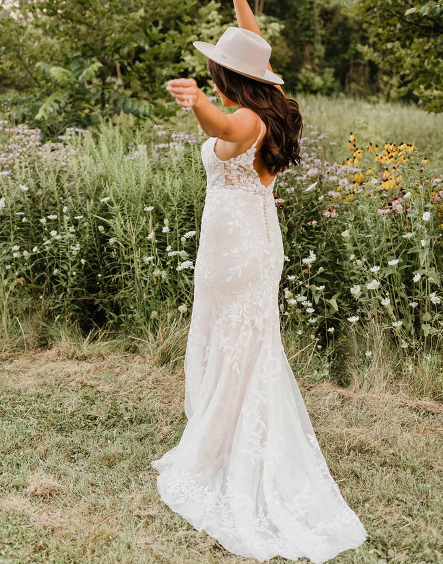 7132- Stella York Wedding Dress Collection – Front View