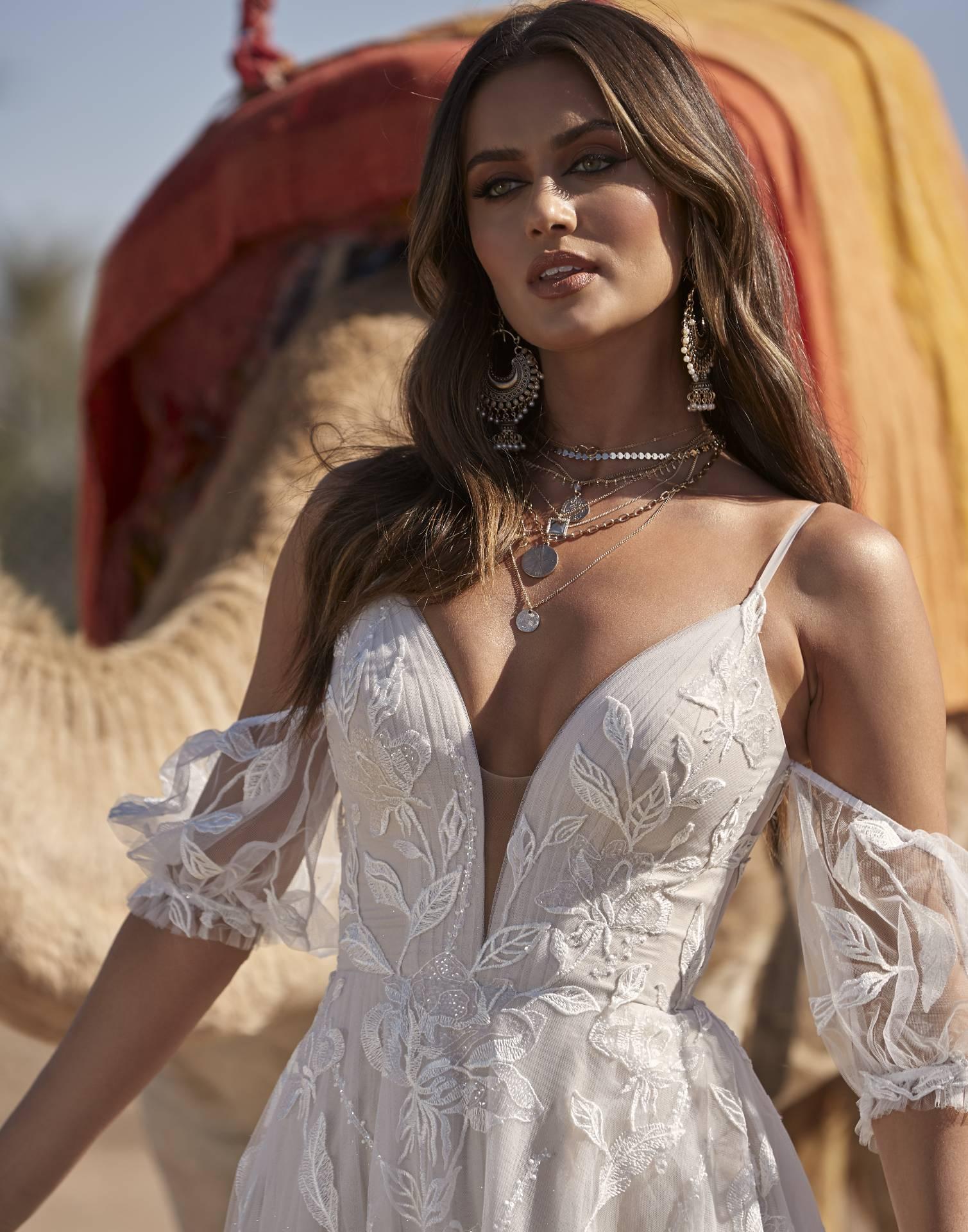 ABIGAIL- Madi Lane Wedding Dress Collection – Front View