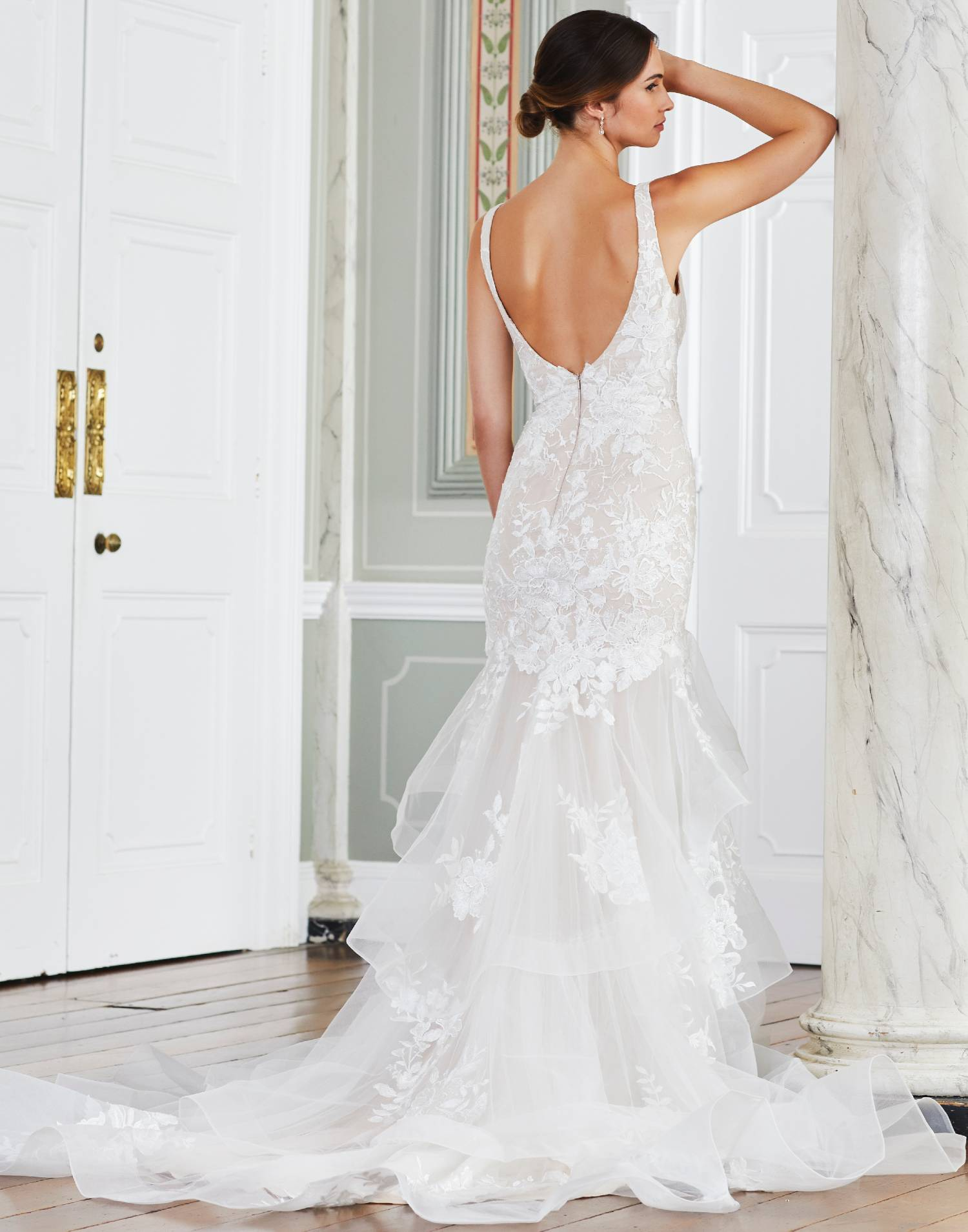 MANDRUAH – Tiffanys Wedding Dress Collection – Front View