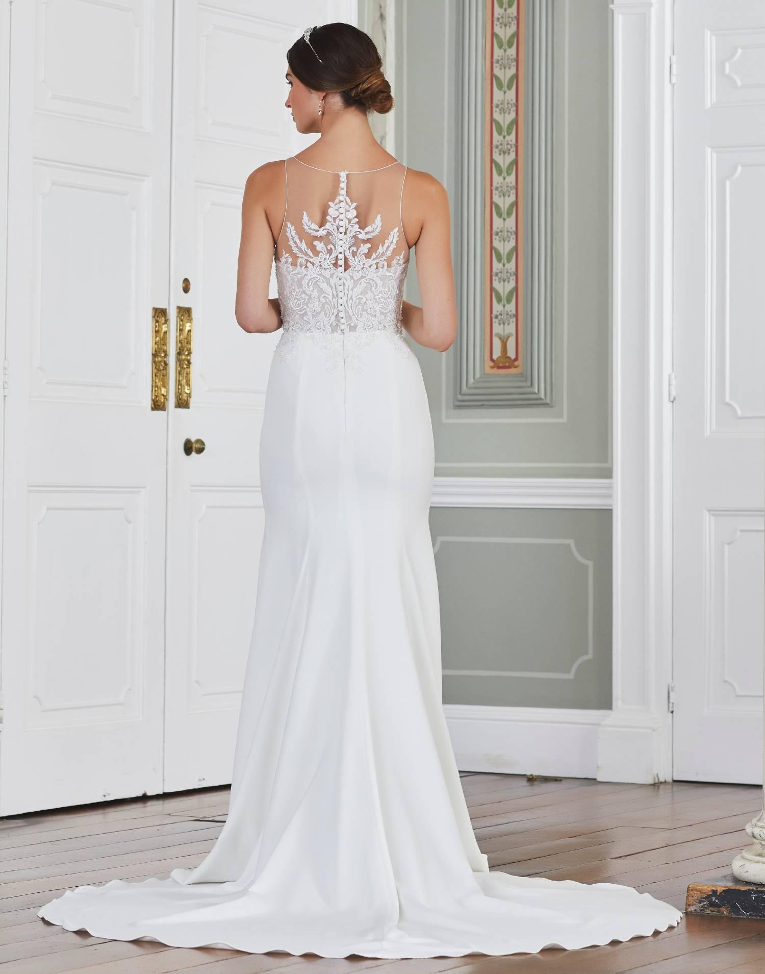 ZAMORA – Tiffanys Wedding Dress Collection – Front View