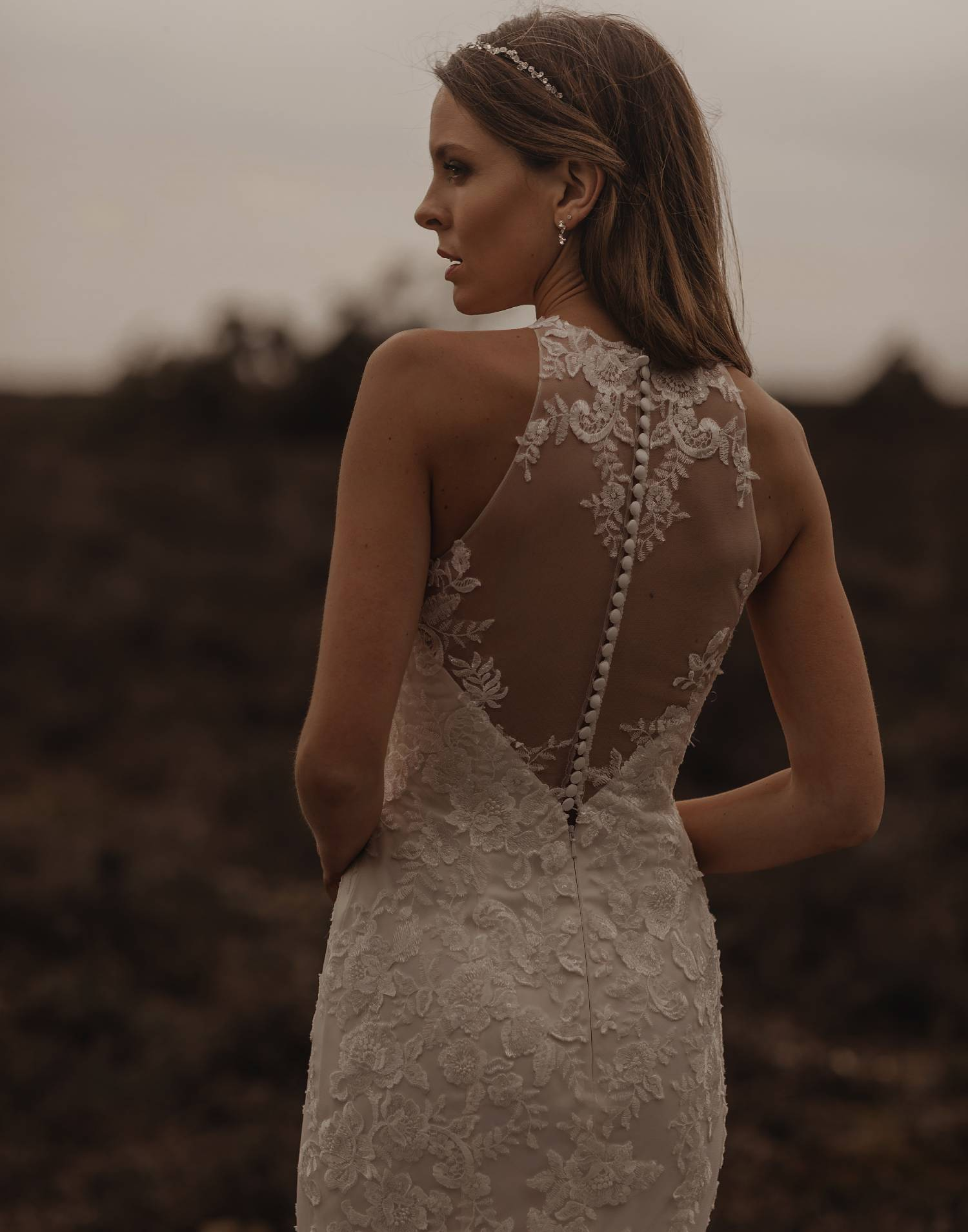 SOLANA – Tiffany's Wedding Dress Collection – Front View