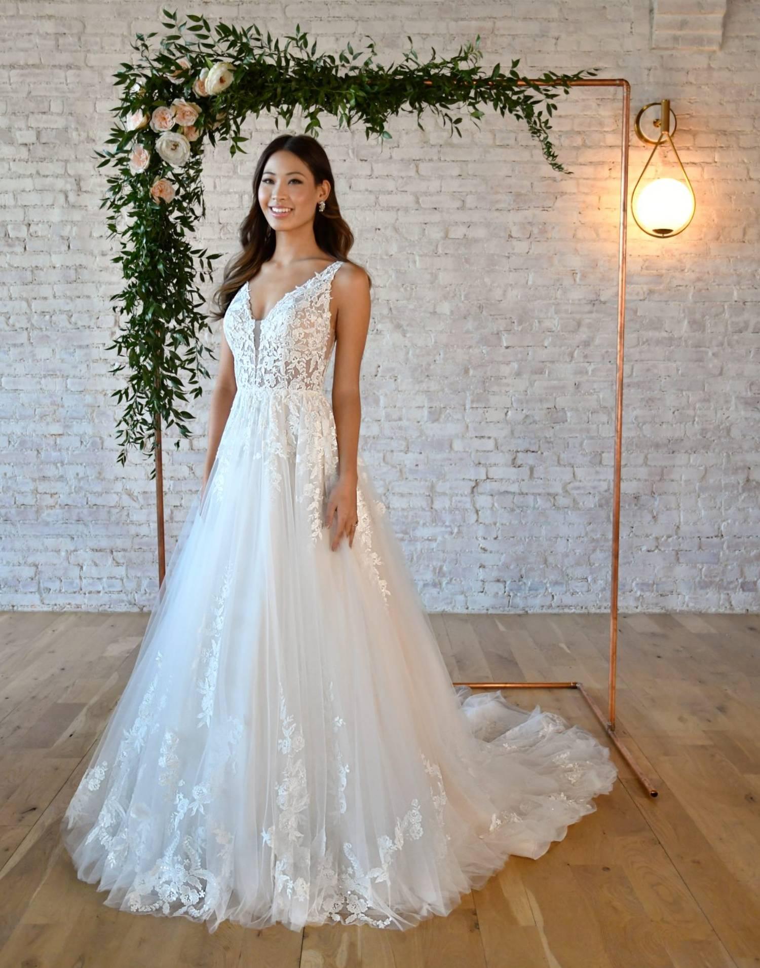 7194 Close Up – Stella York Wedding Dress Collection – Additional View