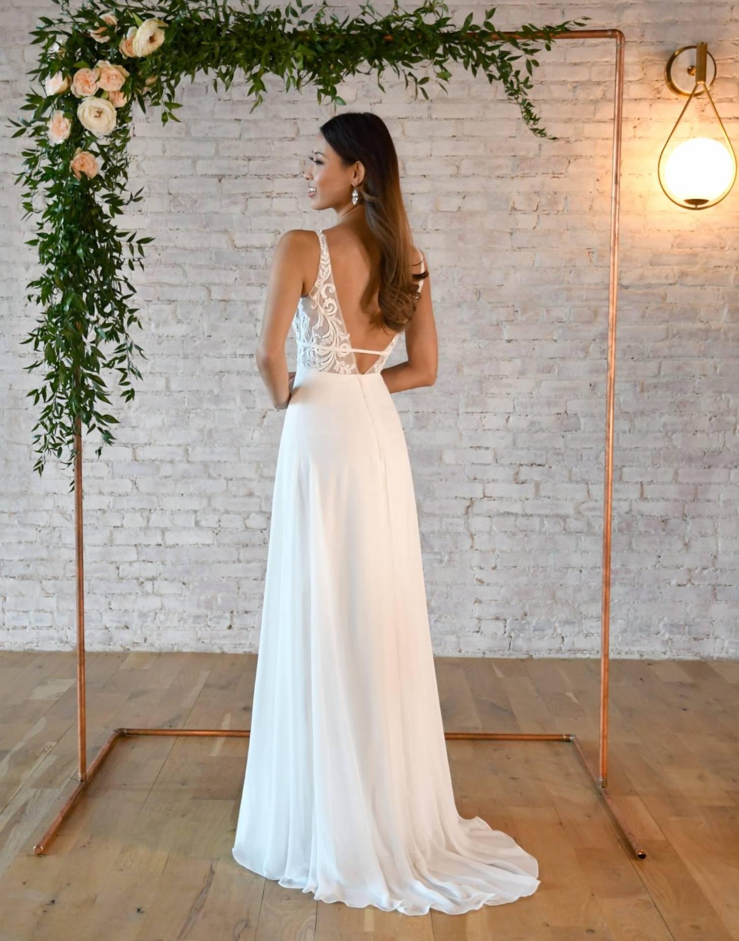 7302 – Stella York Wedding Dress Collection – Front View