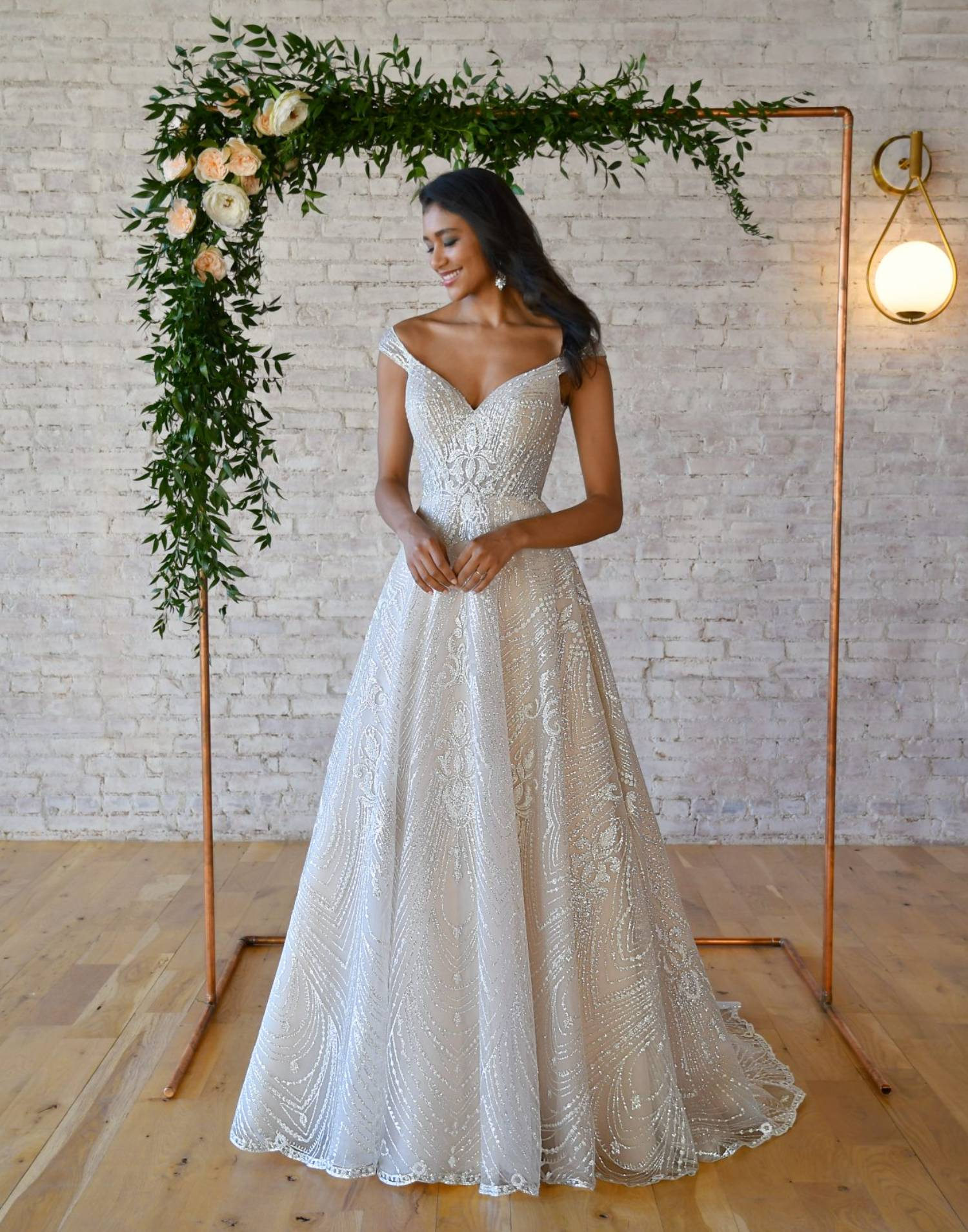 7336 Close Up – Stella York Wedding Dress Collection – Additional View