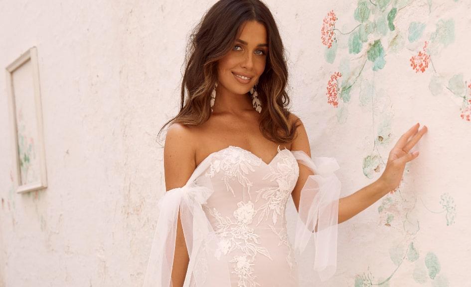 Luxurious Lace Wedding Dresses - Mara Wedding Dress