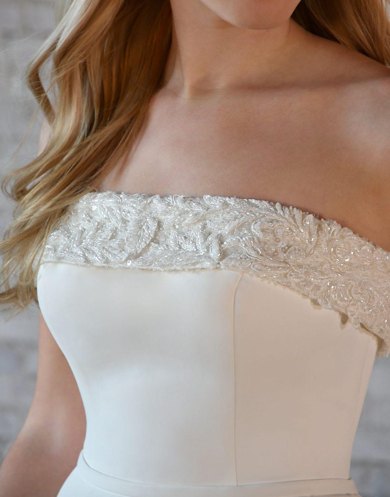 7045 – Stella York Wedding Dress Collection – Front View