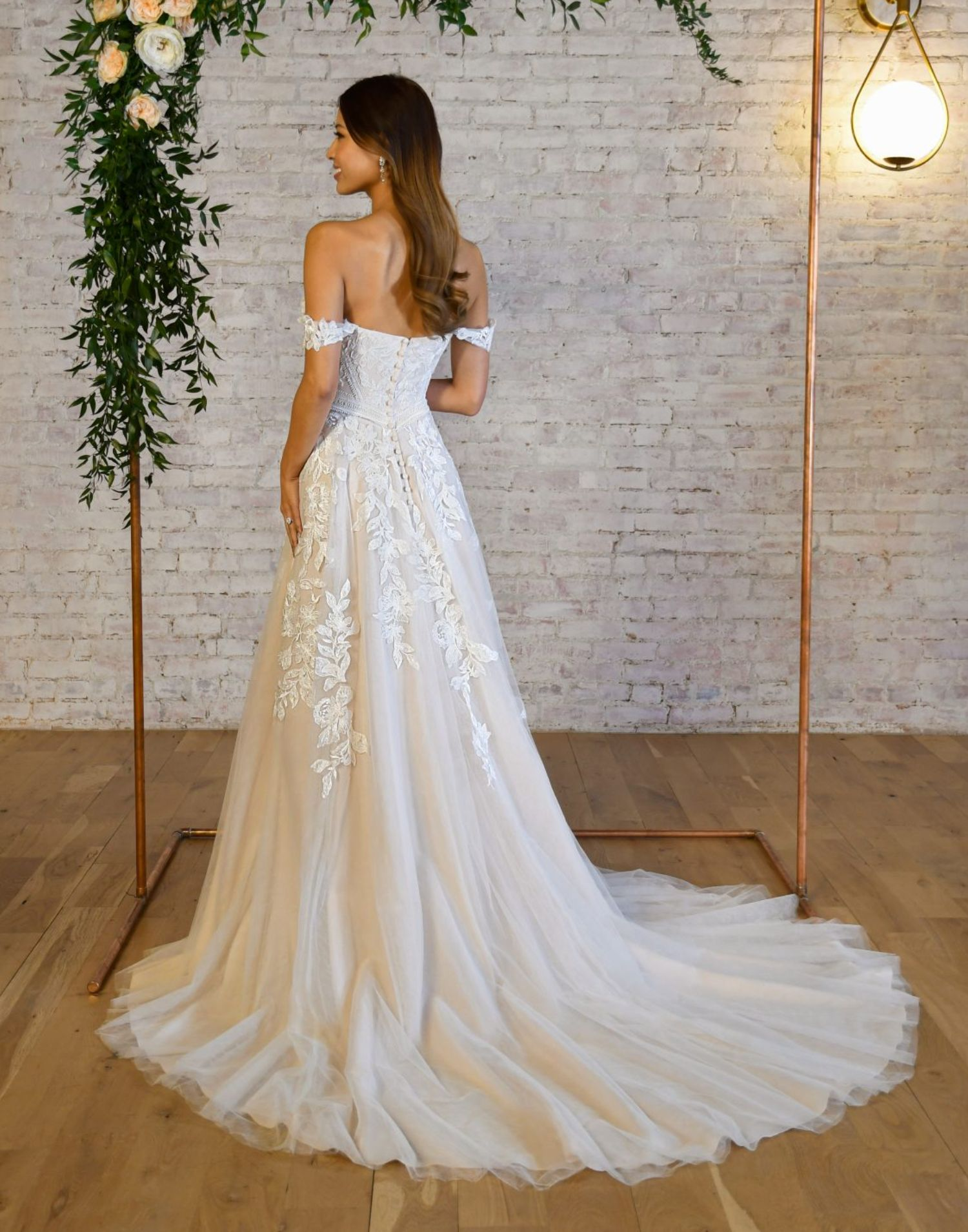 7332 Close Up – Stella York Wedding Dress Collection – Additional View