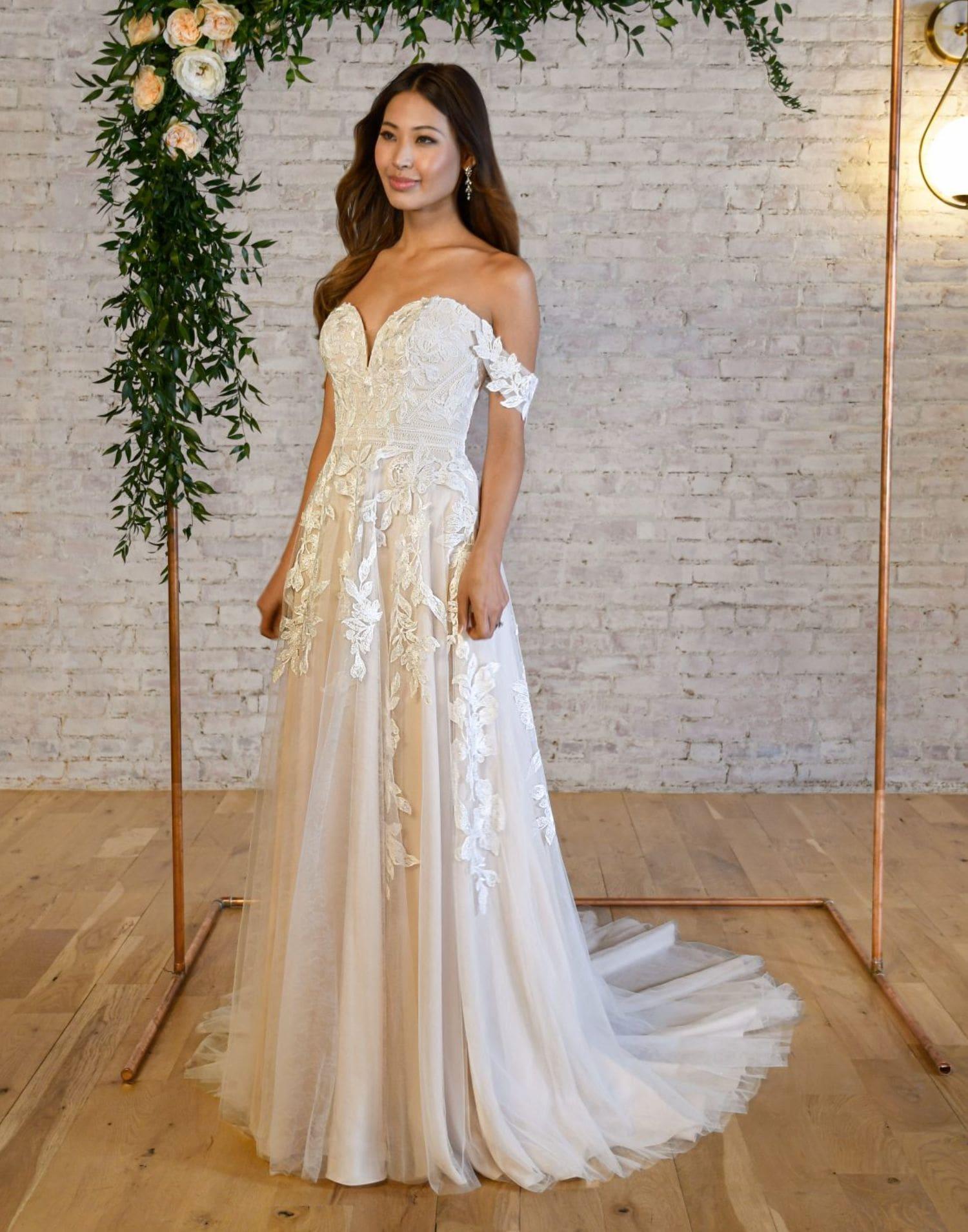 7332 – Stella York Wedding Dress Collection – Front View