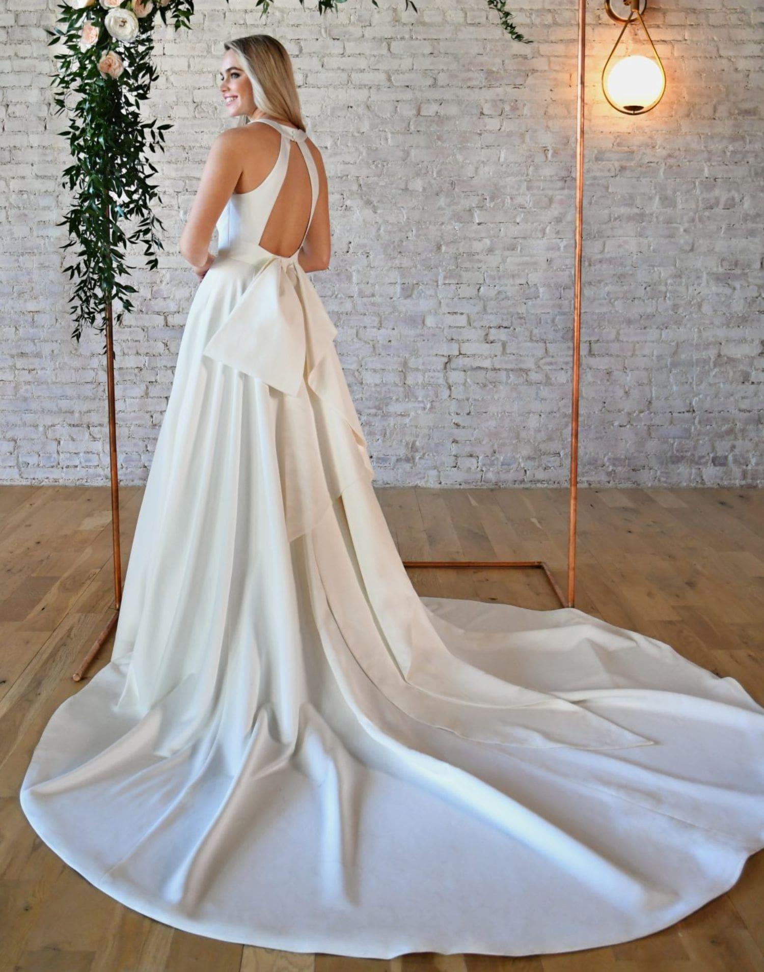 D3324 Close Up – Essense of Australia Wedding Dress Collection – Additional View
