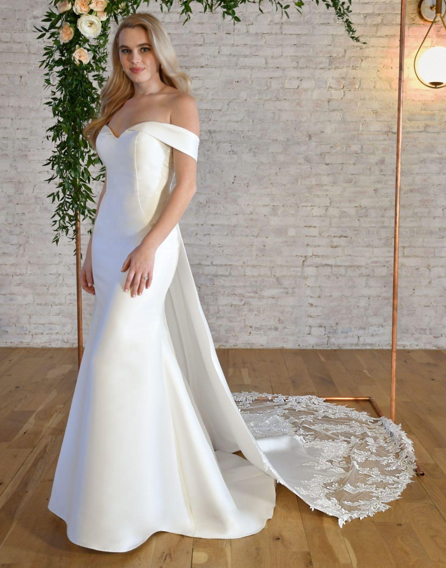 7363 – Stella York Wedding Dress Collection – Front View