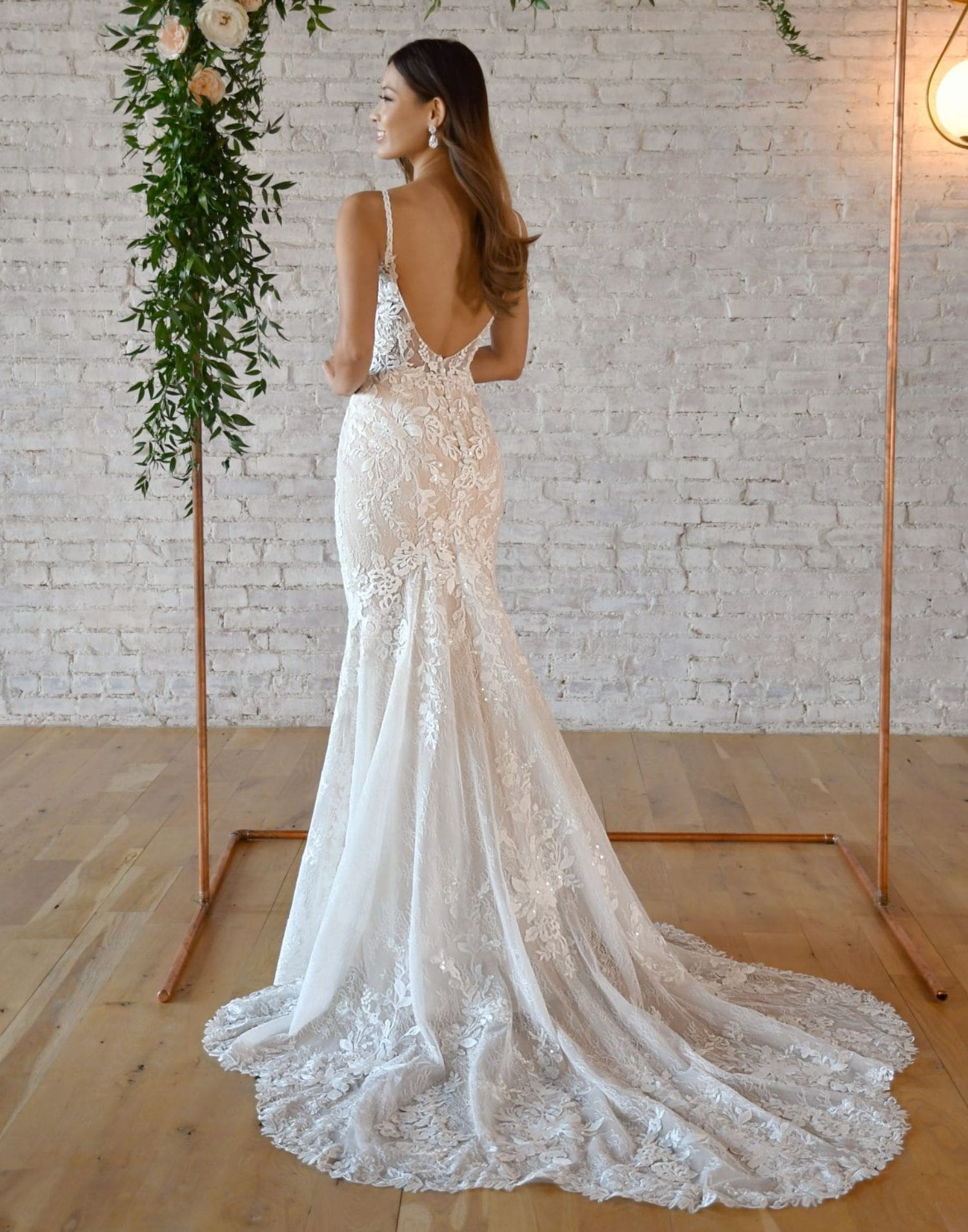 7370 Close Up – Stella York Wedding Dress Collection – Additional View