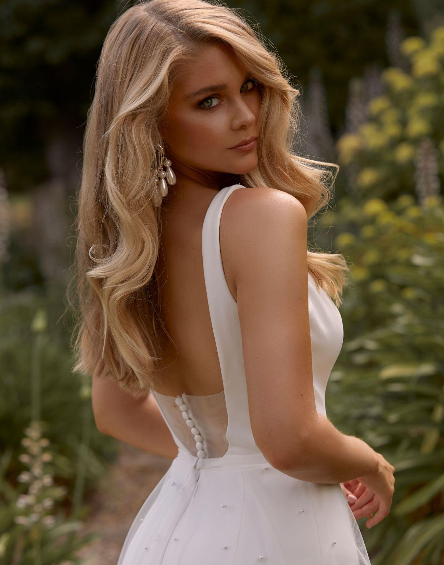 Cooper – Madi Lane Wedding Dress Collection – Front View