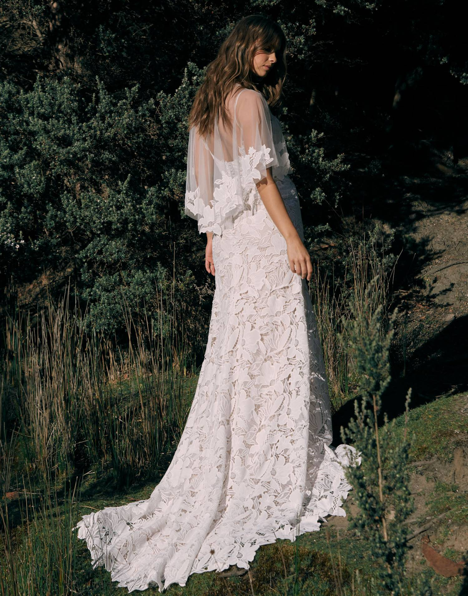 Carlyle-wedding-dress-madi-lane-bridal-front-view-with-cape (1)-min