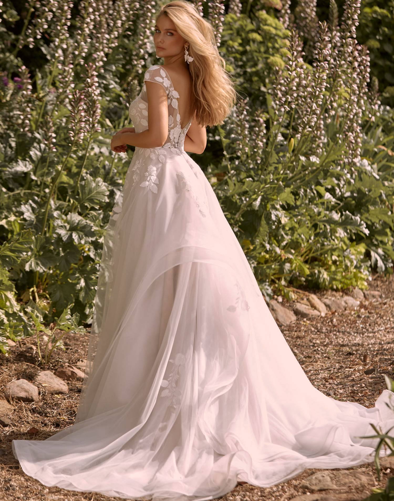 Cassia – Madi Lane Wedding Dress Collection – Front View