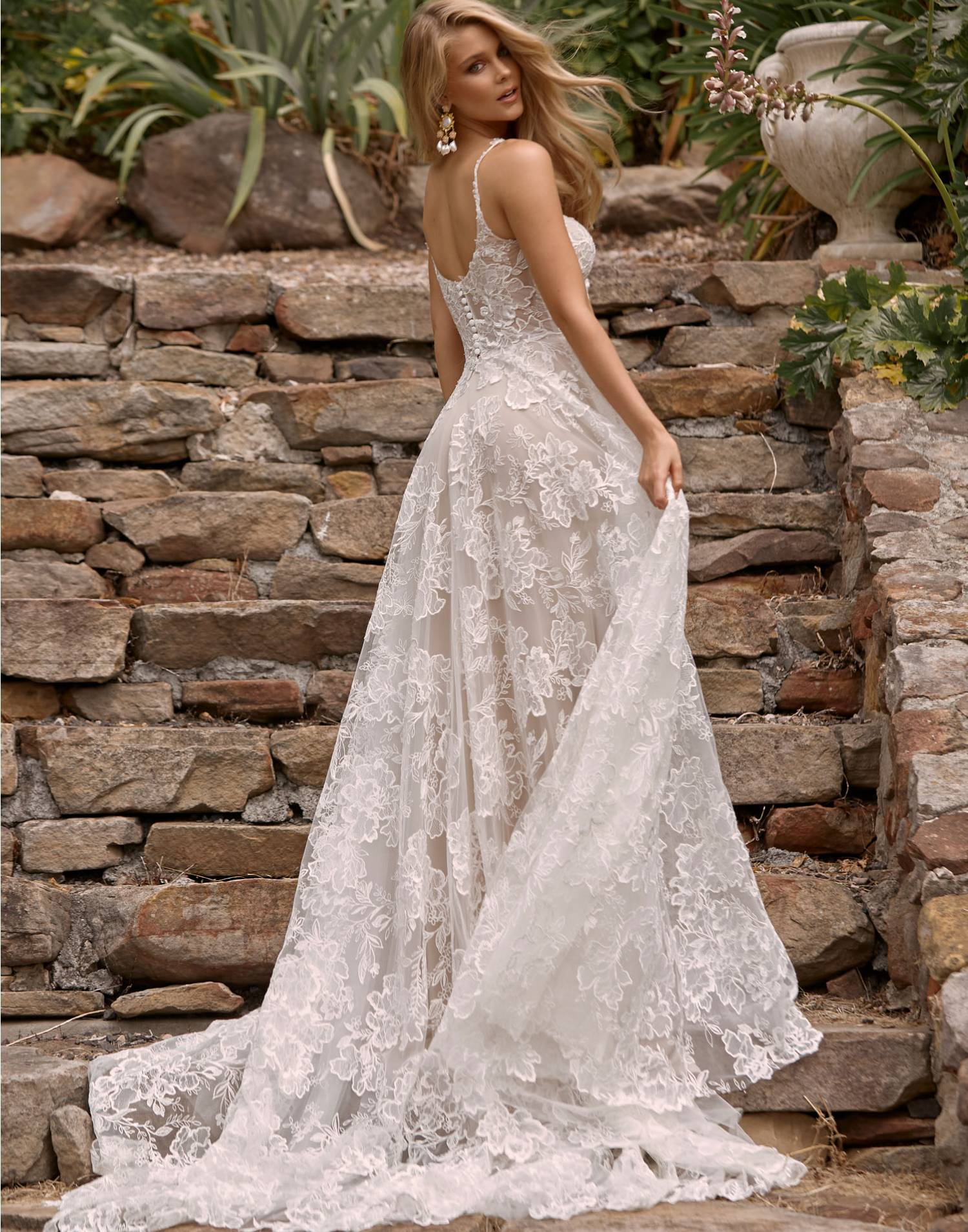 Cleo – Madi Lane Wedding Dress Collection – Front View